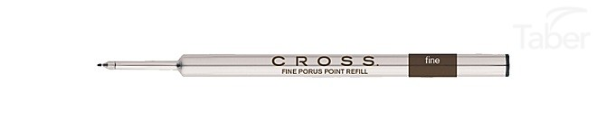 AT Cross Refill, Selectip Porous Point Medium Black