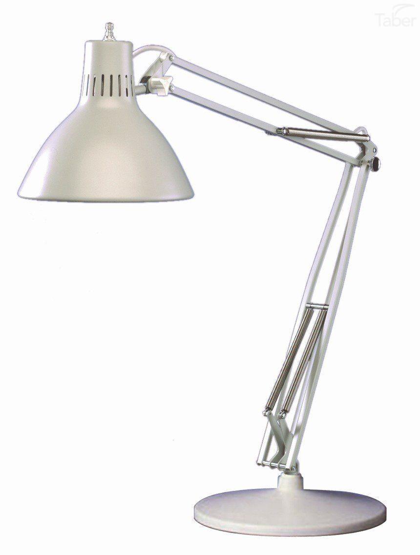 Luxo LS1E-WT Compact Fluorescent Task Light