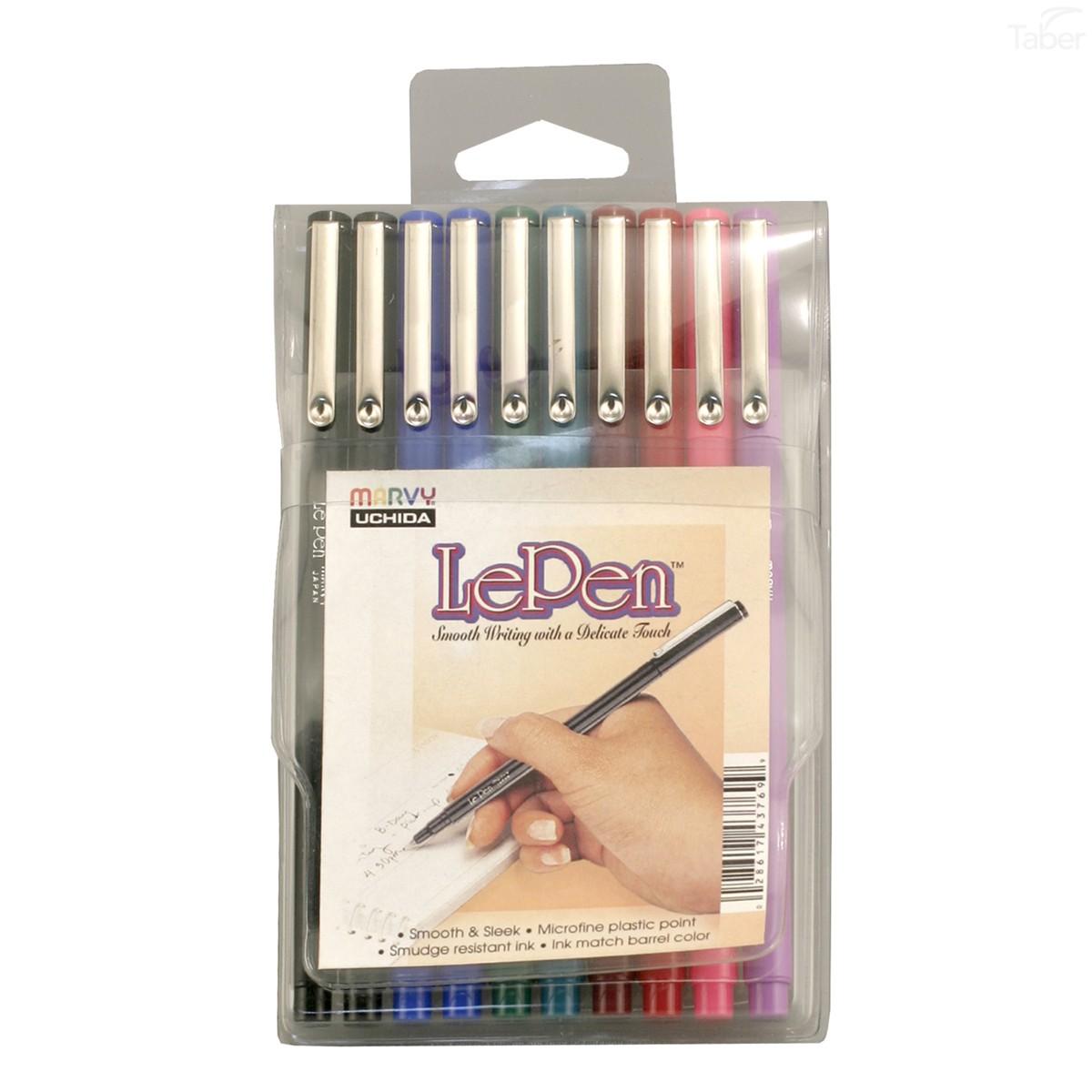 Marvy Le Pen, 0.3mm, 10pc Set