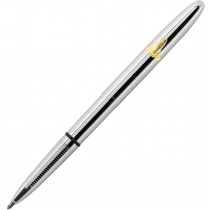 Fisher Bullet Space Pen, Chrome w/Emblem