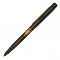 Fisher Space Pen Military Cap-O-Matic Matte Black with Coast Guard Insignia