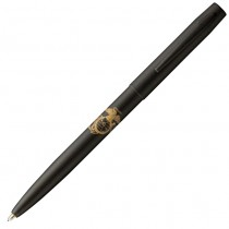 Fisher Space Pen Military Cap-O-Matic Matte Black with Marine Insignia