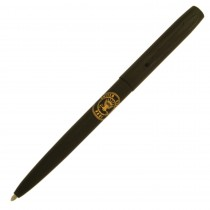 Fisher Space Pen Military Cap-O-Matic Matte Black with Navy Insignia