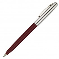 Fisher Space Pen Plastic Barrel Cap-O-Matic Burgundy, Chrome Cap