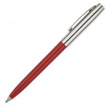 Fisher Space Pen Plastic Barrel Cap-O-Matic Red, Chrome Cap