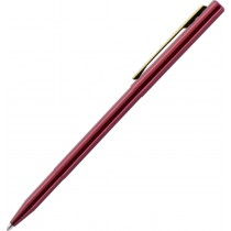 Fisher StowAway Pen with Clip, Red Barrel