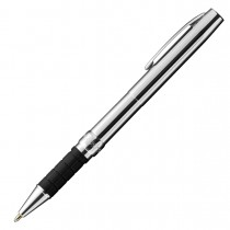 Fisher Chrome Space Pen w/ Rubber Finger Grip