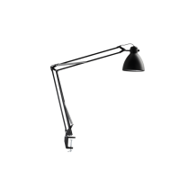 Luxo L-1 LED task light with edge clamp, Black