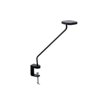 Luxo Trace LED task light with edge clamp, Black