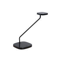 Luxo Trace LED task light with table/desk base, Black