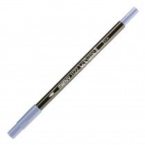 Marvy Le Plume II Double Ended Watercolor Marker, Sapphire