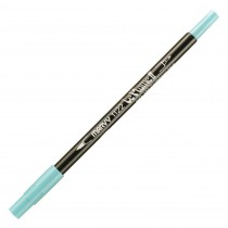 Marvy Le Plume II Double Ended Watercolor Marker, Caribbean Blue