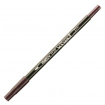 Marvy Le Plume II Double Ended Watercolor Marker, Black Cherry