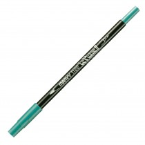 Marvy Le Plume II Double Ended Watercolor Marker, Turquoise