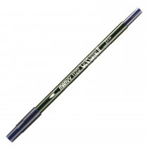 Marvy Le Plume II Double Ended Watercolor Marker, Prussian Blue