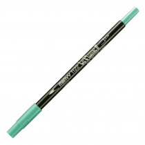 Marvy Le Plume II Double Ended Watercolor Marker, Pale Green
