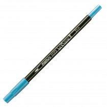 Marvy Le Plume II Double Ended Watercolor Marker, Maganese Blue