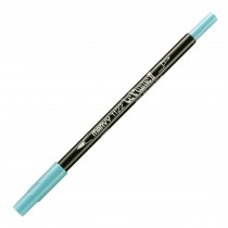 Marvy Le Plume II Double Ended Watercolor Marker, Pale Blue
