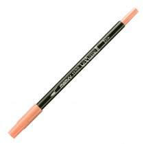 Marvy Le Plume II Double Ended Watercolor Marker, Rose Pink