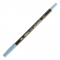 Marvy Le Plume II Double Ended Watercolor Marker, Salvia Blue