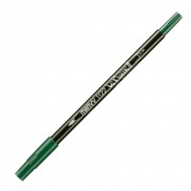 Marvy Le Plume II Double Ended Watercolor Marker, Pine Green