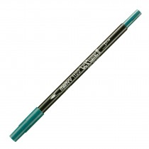 Marvy Le Plume II Double Ended Watercolor Marker, Teal
