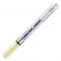Marvy Decocolor Paint Marker XF Cream Yellow