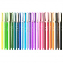 Marvy Le Pen, 0.3mm, 24pk with Neon Colors