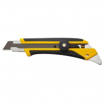 Olfa L-5 Fiberglass Rubber Grip Utility Knife, 18mm Front