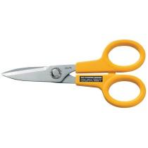 Olfa SCS-1 Scissors, Stainless Steel Serrated Edge