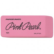Paper Mate Pink Pearl Rub Eraser Large 101