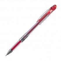 Pentel Slicci Extra Fine Gel Roller, Red