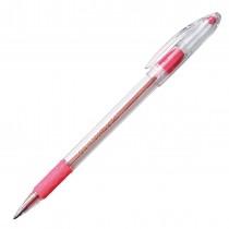 Pentel RSVP Ball Point Pen, Med Pink