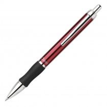 Pentel Client Retractable Med, Red