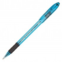 Pentel RSVP Razzle Dazzle Med Ball-Point, Ice Blue Barrel