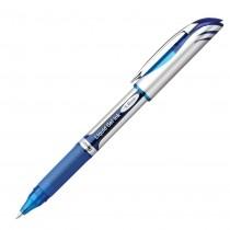 Pentel EnerGel Deluxe Refillable Liq Bold Metal Tip, Blue