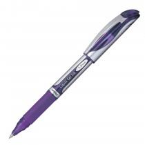 Pentel EnerGel Deluxe Refillable Liq Bold Metal Tip, Violet