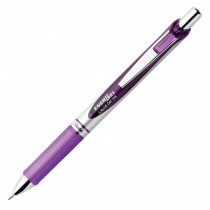 Pentel EnerGel Delux RTX Retract Refillable Liq Med Metal Tip3.19, Violet