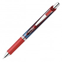 Pentel EnerGel Deluxe RTX Needle Tip, Red Med