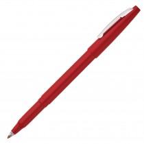 Pentel Rolling Writer, R-100, Cushion Ball Tip Med Red