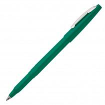 Pentel Rolling Writer, R-100, Cushion Ball Tip Med Green