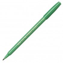 Pentel Color Pen, Fine Pt Olive Green