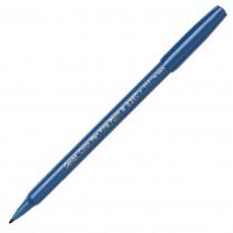 Pentel Color Pen, Fine Pt Steel Blue