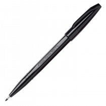 Pentel Sign Pen, Fine Pt Black