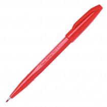 Pentel Sign Pen, Fine Pt Red