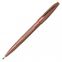 Pentel Sign Pen, Fine Pt Brown