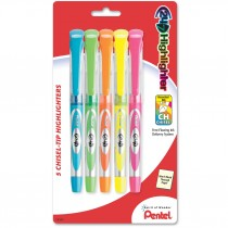 Pentel 24/7 Highlighter, 5 pk