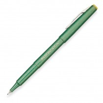 Pilot SW-10PP Razor Point Pen, Ultra Fine, Green