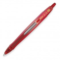 Pilot G6-7 Retractable Gel Rollerball, Fine, Red
