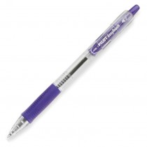 Pilot EZR Easy Touch Retractable Ball-Point Pen, Med, Purple